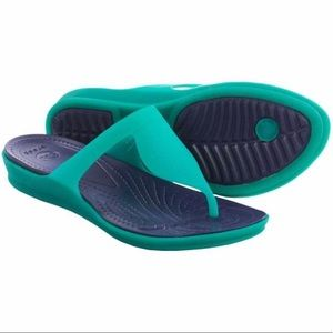 CROCS Women's Rio Flip Flops